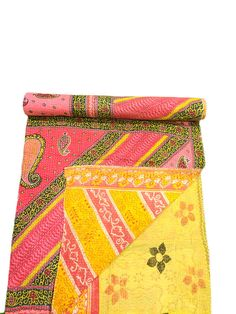 Handmade Kantha Quilt Kantha Bedspread Indian Kantha Throw