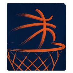 Classic Basketball Fleece Blankets