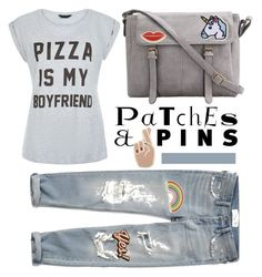 """Pins"" by pamela-802 ❤ liked on Polyvore featuring Hipstapatch, Georgia Perry, Abercrombie & Fitch, Anya Hindmarch and patchesandpins"