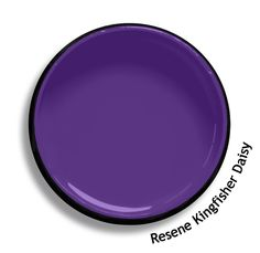 Resene Kingfisher Daisy is a clean violet, striking like the feature feathers of a bird. From the Resene Multifinish colour collection. Try a Resene testpot or view a physical sample at your Resene ColorShop or Reseller before making your final colour choice. www.resene.co.nz