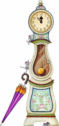 klok met muis