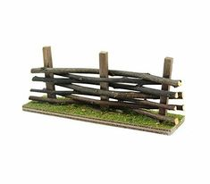 Accent your miniature landscape project or whimsical fairy garden with the Bloom Room Littles Fairy Garden Mossy Wood Fence. This miniature wooden fence is crafted with delicate details to look real. Backyard Fences, Garden Fencing, Garden Path, Fence Landscaping, Fairy Garden Houses, Gnome Garden, Diy Jardim, Dog Fence, Horse Fence