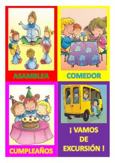 HORARIO EDUCACIÓN INFANTIL Assistive Technology, Circle Time, 1, Teacher, Comics, School, Fictional Characters, Hello Kitty, Ideas