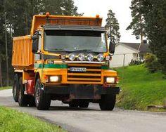 -Dit Is de laatste echte truck, zei vrachtwagen eigenaar Rolf Skarpnord uit Varteig.