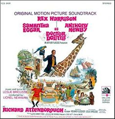 """""""Doctor Doolitle"""" (1967, 20th Century Fox).  Music from the movie soundtrack."""