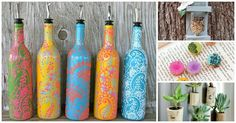35 Creative Ways To Turn Old Wine Bottles Into Stunning Home Décor Accessories.