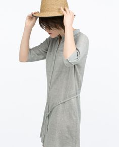 Image 2 of SHIRT DRESS from Zara