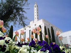 Browse a photograph gallery of beautiful images captured of the Madrid Spain Temple of The Church of Jesus Christ of Latter-day Saints. Lds Memes, Lds Quotes, Temple Gardens, Mormon Temples, Lds Mormon, Lds Church, Latter Day Saints, Heaven On Earth, Jesus Christ