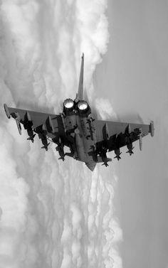 loaded eurofighter typhoon