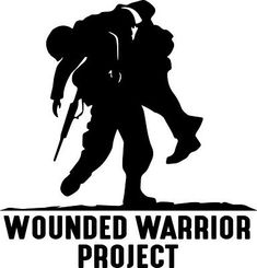 Wounded Warrior One Color Die Cut Decal WWP Support our Troops/Veterans! Greyhound Tattoo, Pictures Of Soldiers, Wounded Warrior Project, Car Bumper Stickers, Vinyl Art, How To Raise Money, Event Design, Decals, Veterans Organizations
