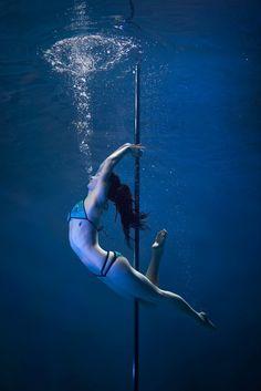 Pole Dancing Goes Underwater