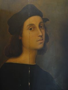 My favorite self-portrait of 'Raphael'- The 'Nicholas'  Collection.