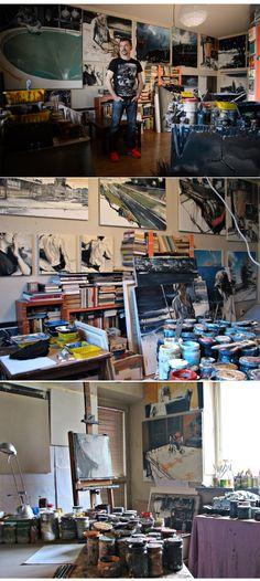 Studio: Robert Bubel http://magazine.saatchiart.com/articles/artnews/saatchi-art-news/inside-the-studio-saatchi-art-news/robert-bubel