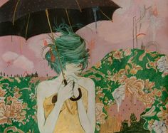 reminds me of those days when the wind gets in and tangles my thoughts...   art by Alexandra Levasseur