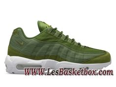 more photos ebc61 3bd37 Nike Air Max 95 Stussy Dark Olive 834668-337 Chaussures Nike Urh Pas cher  Pour