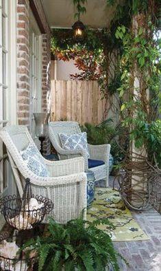Cozy porch...