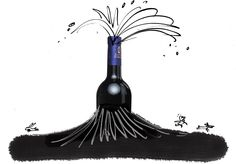 Good wines are never just one thing. They are instead an expression of two parts, grape and place, with the help of a third, producer. (Illustration: Serge Bloch)