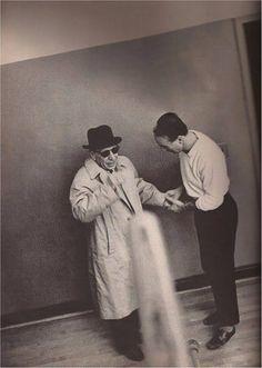 Igor Stravinsky and George Balanchine. Photograph by Martha Swope, 1962