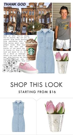 """Без названия #92"" by milana-konova ❤ liked on Polyvore featuring Dorothy Perkins and Vans"