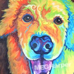 Who Loves You ~ Pet Dog Portrait ~ Meg Harper — Meg Harper Art   Are you looking for a painting of your magnificent pet? Have Meg create a pet portrait just for you, today.    #dog #puppy #best friend #inspirational #kindness #animalpainting #art #painting #pets #petportrait #animal #love #megharper #megharperart