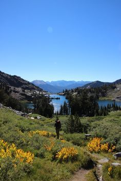 Incredible backpacking in Inyo National Forest, Mammoth Lakes, California