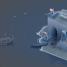 Bad North - A Minimalistic, Real-Time Tactics Roguelite with Vikings Real Time Strategy, Strategy Games, Indie Games, Xbox One, Game Art, Vikings, Sci Fi, Action, Racing