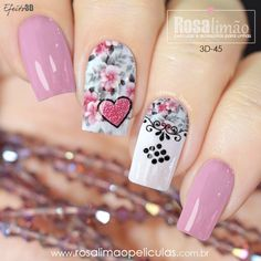 Cute Nails, Pretty Nails, My Nails, Beautiful Nail Designs, Weird And Wonderful, Short Nails, Glitter, Beauty Nails, Nail Art Designs