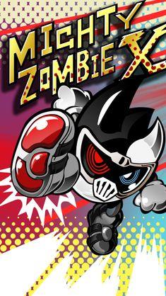 Mighty Zombie X Phone Wallpaper by raidenzein on DeviantArt Kamen Rider Ex Aid, Kamen Rider Series, Zombie Logo, Zombie Wallpaper, Spiderman Drawing, Dragon Knight, Art Pages, Comic Character, Chibi