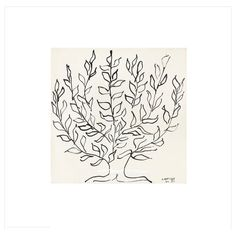 """Ikea BILD Poster, L'arbre $8.00 Article Number:702.340.72 Motif created by Henri Matisse. Read more Size 19 ¾x19 ¾"""""""