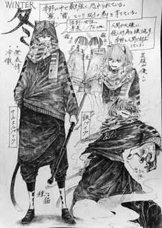 画像 Anime Drawings Sketches, Anime Sketch, Manga Drawing, Manga Art, Cool Drawings, Anime Art, Character Design References, Character Art, Character Concept