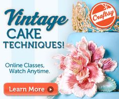 Online Cake Decorating Class.    Well, if I had money I'd spend it here. :)