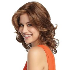 Stylish Sexy Halve Big Waves and Short Curls High Temperature Synthetic Wig Short Hair Wigs, Long Curly Hair, Curly Hair Styles, Gabor Wigs, Medium Length Hair With Layers, Natural Wigs, Short Curls, Hair Knot, Full Hair
