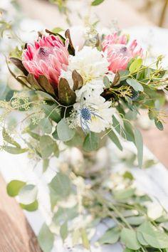 Sarah + Darren's Romantic Dos Pueblos Orchid Farm Wedding on PartySlate