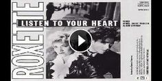 """Roxette – """"Listen to your heart"""" (1988), http://ascoltachemusica.it/roxette-listen-to-your-heart-1988-29785  #Roxette #Listentoyourheart #music80"""