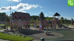 Animals and a fantastic playscape... Review and pics of Hess Hathaway Park in Waterford. http://oaklandcountymoms.com/hess-hathaway-park-waterford-review-pics-48291/