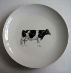 cow plate
