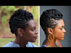 natural braided and twisted hair Natural Hair Twist Out, Natural Hair Braids, Braids For Black Hair, Natural Hair Styles, Cute Box Braids Hairstyles, Braided Hairstyles Updo, Cool Hairstyles, Braided Updo, Hairstyles Pictures