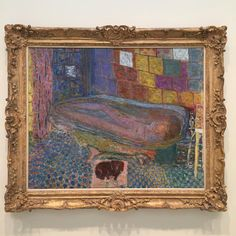 Still thinking about the most beautiful #Bonnard I have ever seen
