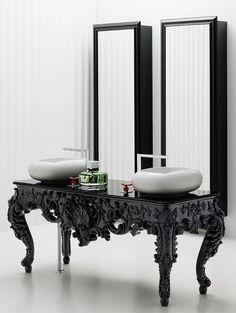 Modern Antique Bathroom Vanities, Consoles, Mirrors - Bisazza Wanders Collection