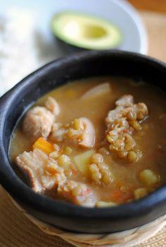 Colombian Style Lentil Soup // Sopa de Lentejas Estilo Colombiano