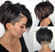 40 Pretty Pixie Hairstyles (April 2019 Collection) Pixie styles are absolutely stunning and can offer a lot of style and fun. It might seem scary… SEE DETAILS. Pixie Hairstyles, Short Pixie Haircuts, Haircuts With Bangs, Trending Hairstyles, Short Hairstyles For Women, Short Hair Cuts, Celebrity Hairstyles, Weave Hairstyles, Undercut Hairstyles Women