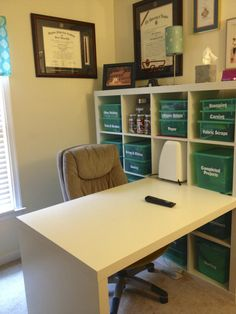 An organized craft room by Doyle Dispatch