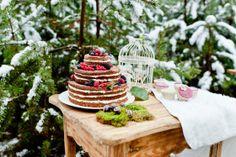Photo: VanessaBadura, Baking: coucoubonheur, Naked Cake, Winterwonderland