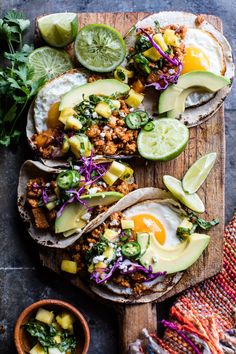 This twist on Breakfast Tacos al Pastor from Half Baked Harvest features a sweet-and-spicy sauce made with a splash of Florida's Natural orange juice.