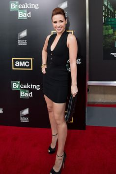 Breaking Bad Season 5 Premiere  Allison Scagliotti of Warehouse 13