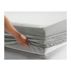 SÖMNIG Spannbettlaken IKEA Die Mischung aus Baumwolle und Lyocell nimmt Feuchtigkeit auf und lässt sie verdunsten - der Körper bleibt trocken.
