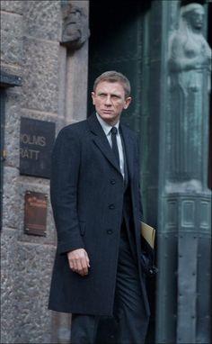 Daniel Craig Long Coat