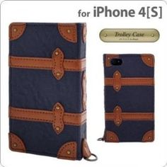 Trolley Case Book iPhone Case