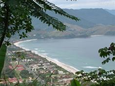 Maresias, Sao Sebastiao SP Brazil .....I can see my house!!!! yeahhh home sweet home