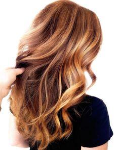 Natural Strawberry Blonde Hair, Strawberry Blonde Highlights, Strawberry Hair, Brown Hair With Blonde Highlights, Hair Highlights, Blonde Hair Honey Caramel, Light Caramel Hair, Reddish Blonde Hair, Dark Blonde Hair